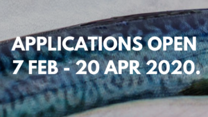 Applications Open from 7 February to 20 April 2020