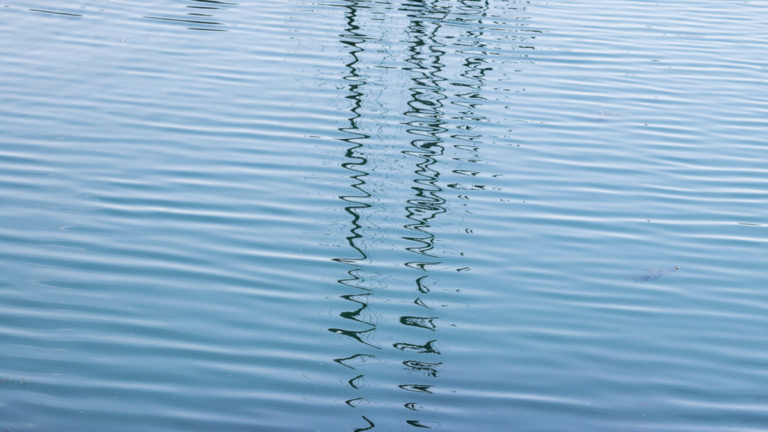 Water texture blue